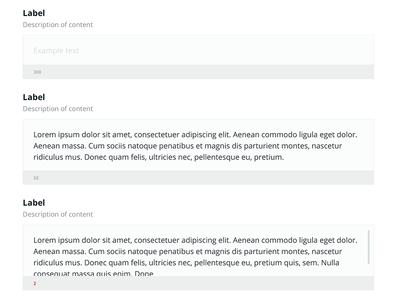 Textarea UI