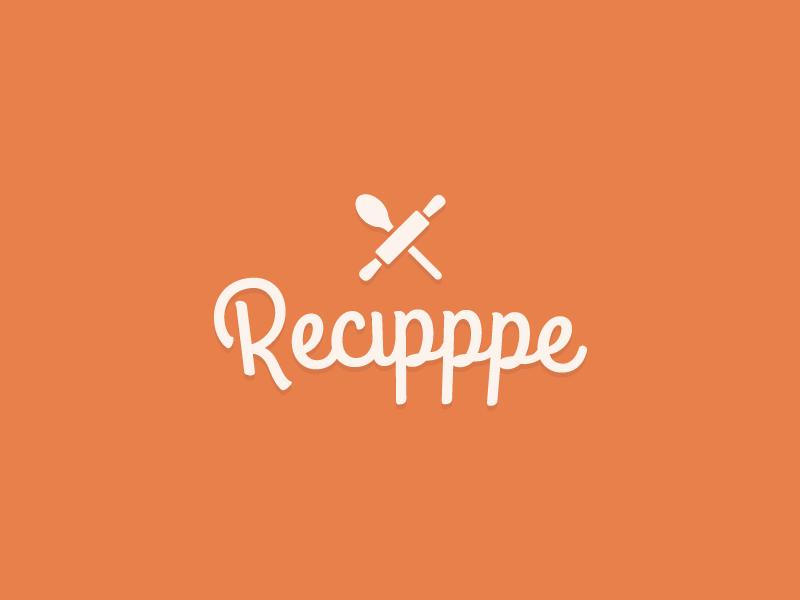 Logo logo recipe food tangerine