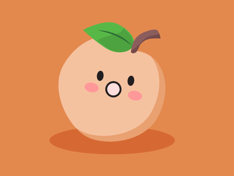 Speachless pun food pun cute vector food illustration
