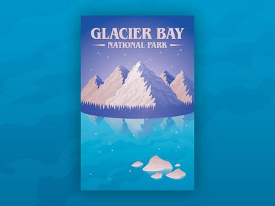 Glacier Bay Landscape