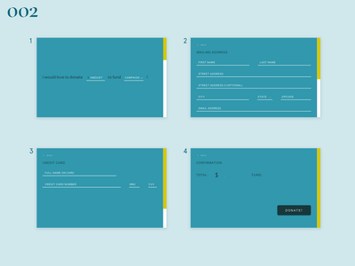Daily UI #002–Credit Card Checkout