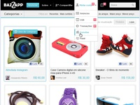 Redesign Home - ecommerce Facebook