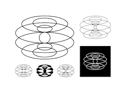 Torus Logos software consulting torus curves lines logos