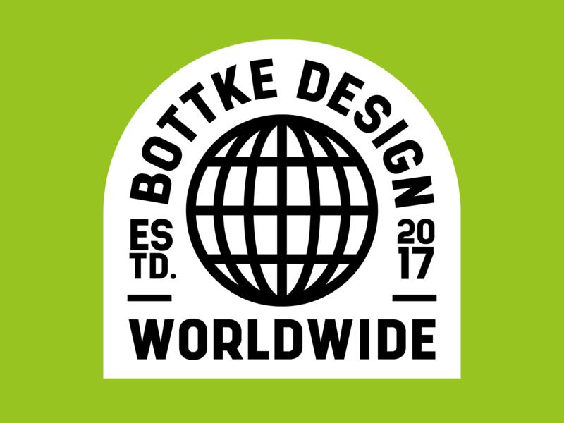 Bottke 2020 pt.1 sticker branding badge colour graphicdesign adobe design illustrator vector logo