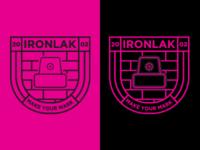 Ironlak badge logo