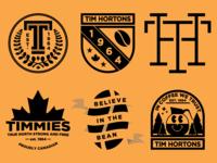 Tim Hortons Badge Logos