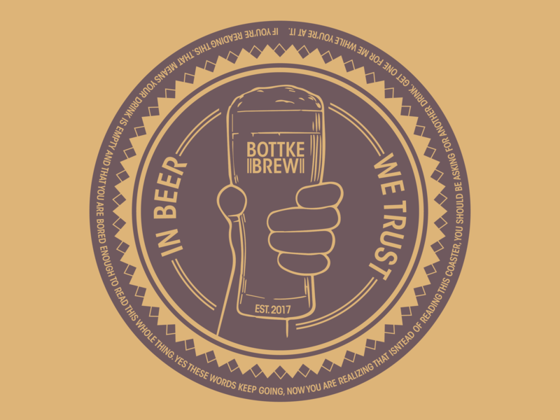 Bottke Brew typography b angles branding badge colour design adobe graphicdesign illustrator vector logo