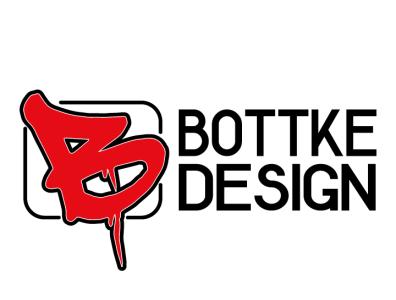 Bottke Design logo typography branding colour graphicdesign design adobe illustrator vector logo