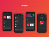 Muze | Apple Inspired Music App