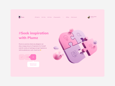 Design system Plumz system design clean design design app art illustration illustrator pink vector ui ux user behance web dribbble ux uidesign ui app ux design ui