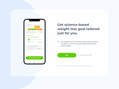 First screen landing page Noto uidesign color mobile heropage firstpage clean ui card ui ux user dribbble ux ui app ux design ui