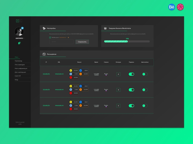 Admin Panel (redesign) bootstrap 4 grid design vector design app card art card behance project android app android ux design ux ui app dribbble behance web uidesign ui ux user ui