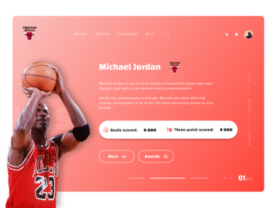 Basketball Player Michael Jordan Card