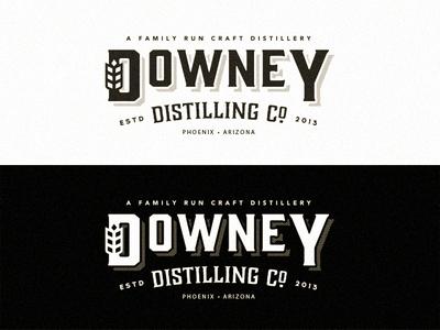 Downey Distilling Co - Final logo