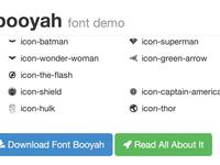 Font Booyah