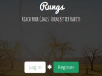 Rungs Home Screen