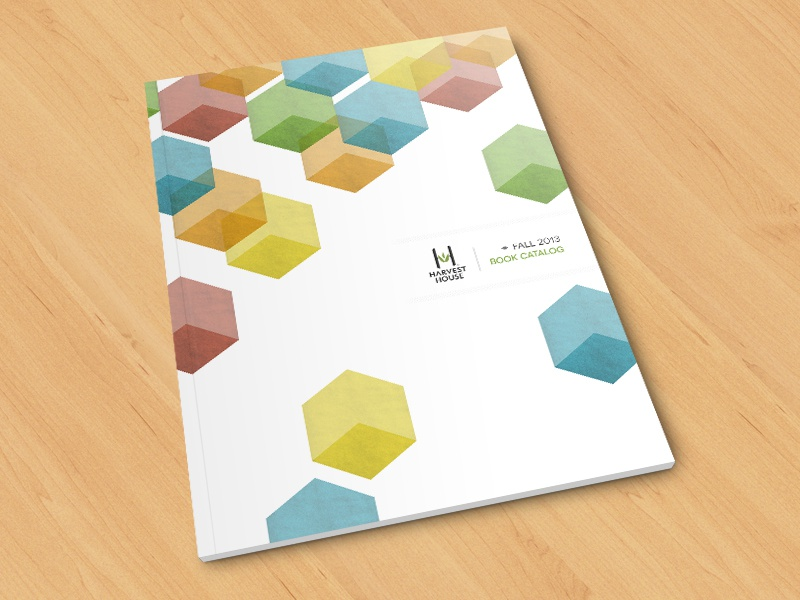 Catalog Cover catalog geometric print