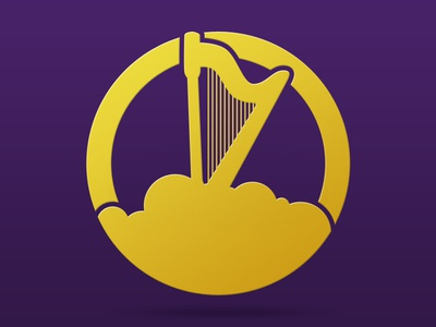 Cloud Harp Icon