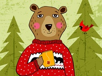 Red Sweater Bear