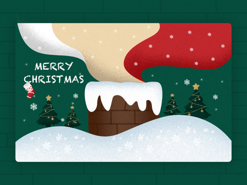 Christmas star white golden snow christmas tree sock red green christmas ball christmas design illustration