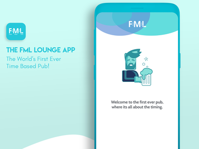 FML Lounge App UI design userinterface uidesign ui uiux