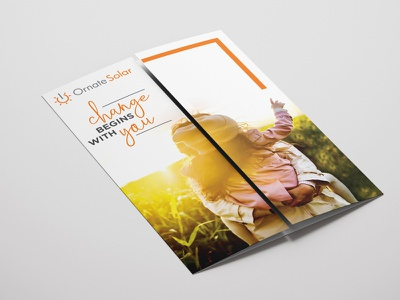 Brochure leaflet change digital print brochure minimal photoshop branding dribbble design graphic design creativepeddler