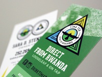 Tîma Tea Business Cards