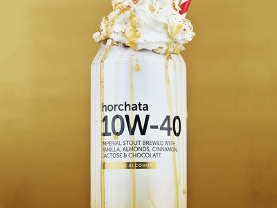 Horchata 10W-40 Imperial Stout Can