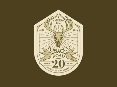 Tobacco Road 20th Anniversary Logo