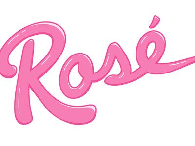 Rosé Lettering