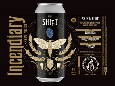 Incendiary Brewing Shift (Blue)