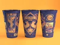 Vaso para festival Zapal 2018