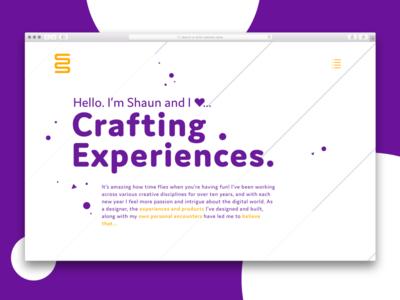 Personal Website Redesign V2