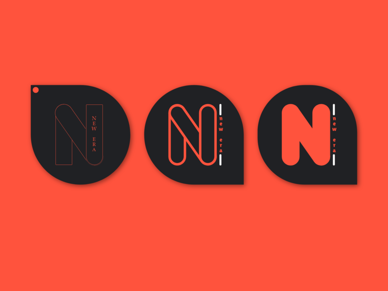 New Era Accounting icon logo branding design adobexd