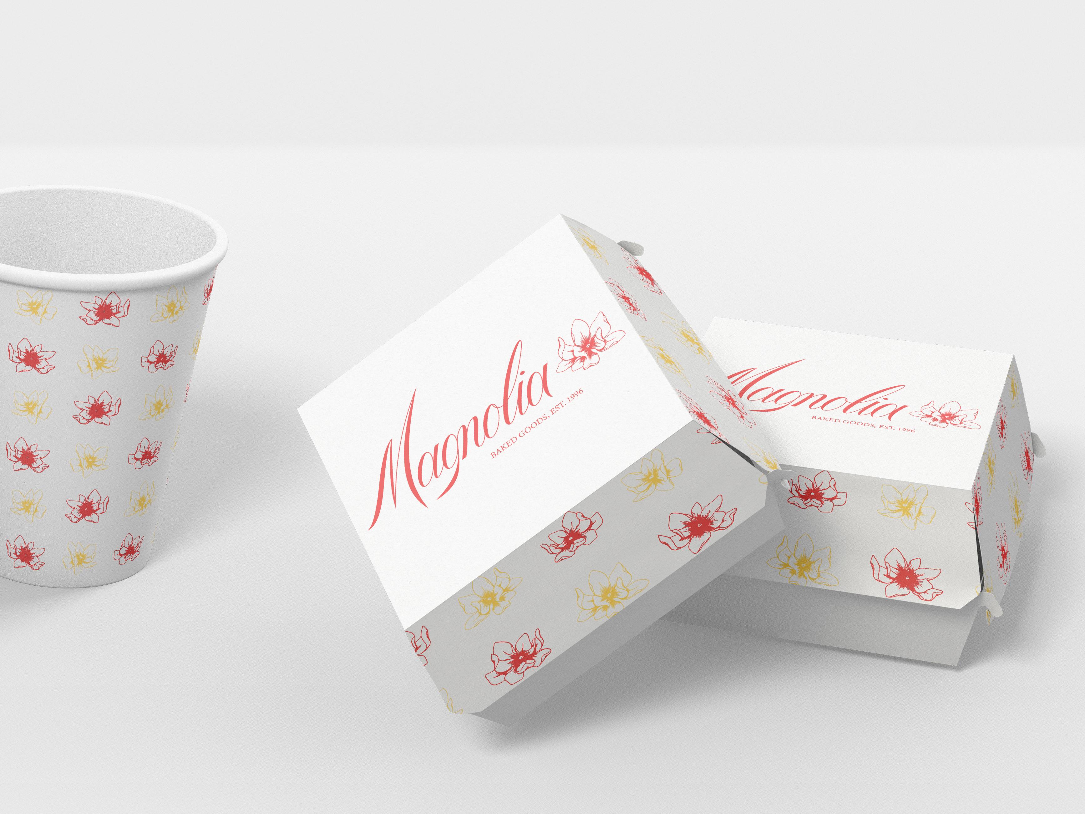Magnolia  cups   boxest