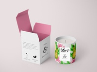 Lux Candle Co. - mockup