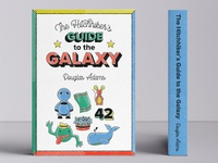 The Hitchhiker´s Guide to the Galaxy - cover redesign