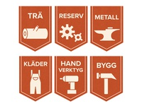 Handyman Tools - Category Tags/Icons