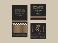 Fourth Ward Coffee Matchbook