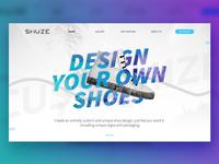 Shuze - Website Design