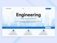 Construction Company - Landing Page