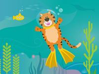 Diving Tiger!