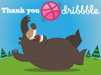 Thanks Dribbble!
