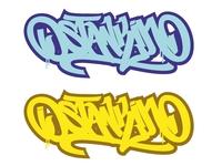 """Ostankino"" lettering"