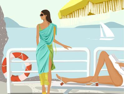 Elle Magazine Editorial Illustrations illustration fashion illustration editorial illustration