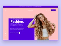 Fashion Home Page