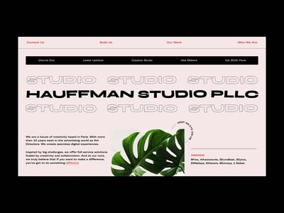 HAUFFMAN Studio / Loader Animation