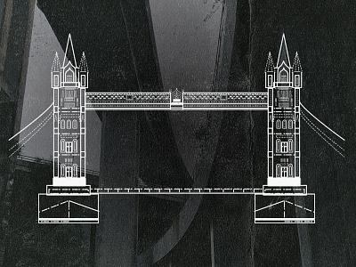 London  architecture building city tourist bridge vector london bridge london