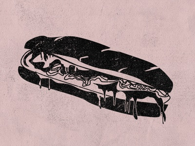 Cheesesteak cheese whiz whiz wit whiz hoagie bread yum vector sandwich sub cheese cheesesteak philly