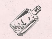 Sinking Ship in a Bottle